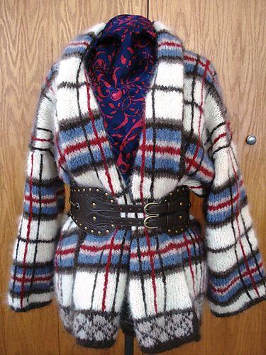 Ravelry: Highland Fling Plaid Jacket pattern by Nicky Epstein