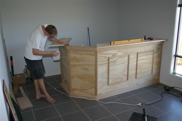 Finally I Have Begun Construction On The Brand Bar The Work