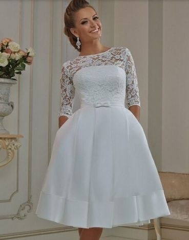 Plus Size Wedding Dresses Short Ideas