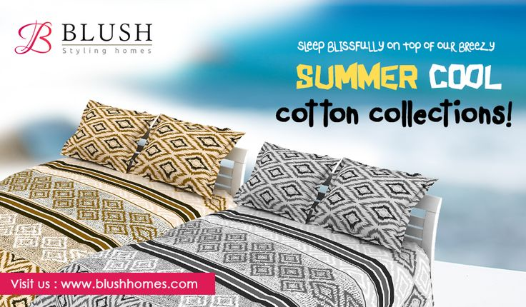 Our lovely bed linen suits any style of bedroom. Once you've discovered the joy and comfort of pure linen, nothing else is quite the same, keeping you warm in winter and cool in the summer months. For 100% linen beddings, shop on www.blushhomes.com