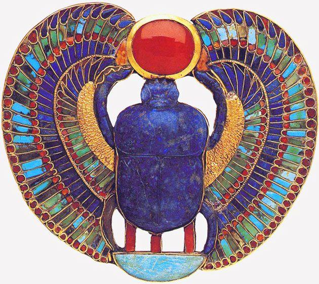 Joyas Egipcias. | Belleza y arte de vivir.