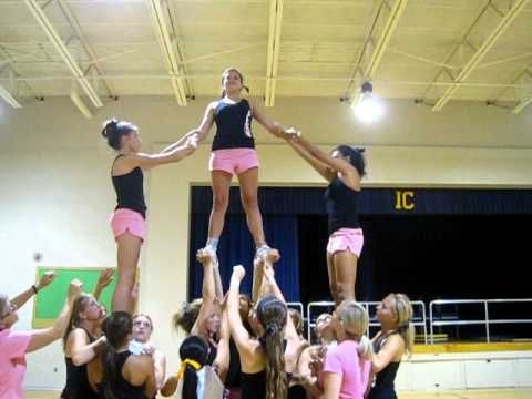 ▶ Superman Cheer Stunt :) - YouTube