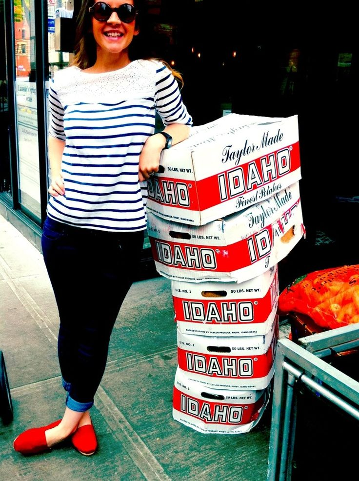 Red TOMS really make your outfit so much funner! <3