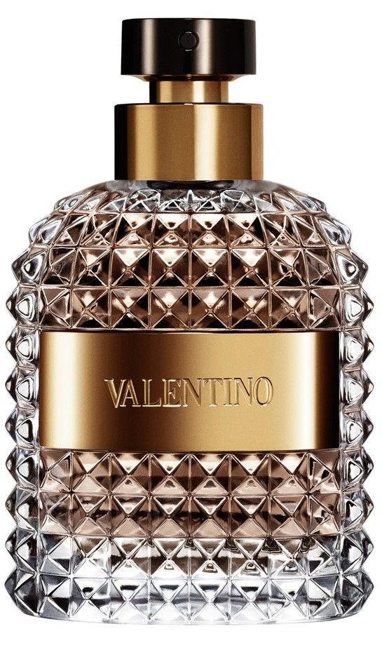 New Valentino cologne (shaped like a bottle of fine liqueur!)