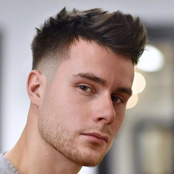 Textured Short Quiff Taper Fade Best Short Hairstyles For Men Cool Men S Short Haircuts Get Mens Haircuts Short New Men Hairstyles Mens Hairstyles Short