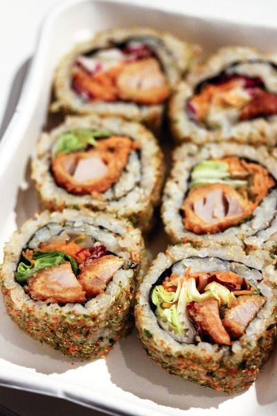 now i want sushi @madisoncenter