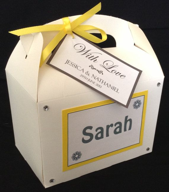 Personalised Childrens Kids Wedding Activity By FuneralsandFavours 261