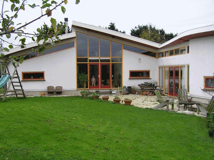 30 fotos de casas ecol gicas madera piedra paja adobe - Casas ecologicas de madera ...