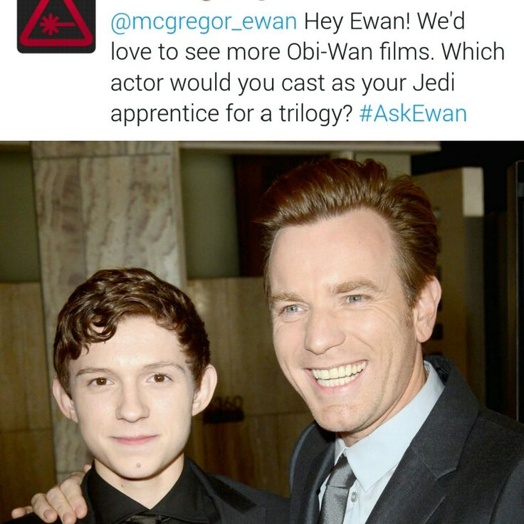 He answered that he would love to do it with Tom Holland! ♡♡ I love this so much <3 These 2 were so amazing in The Impossible ♡