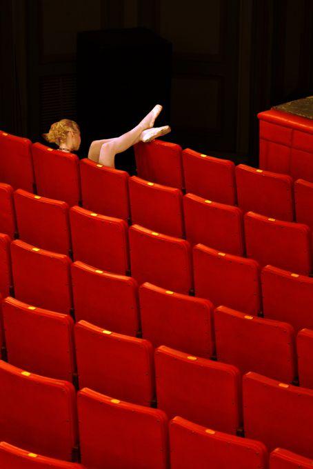 recherchestetique: alwaysaroused: lonely ballerina…Salih Guler Photography red