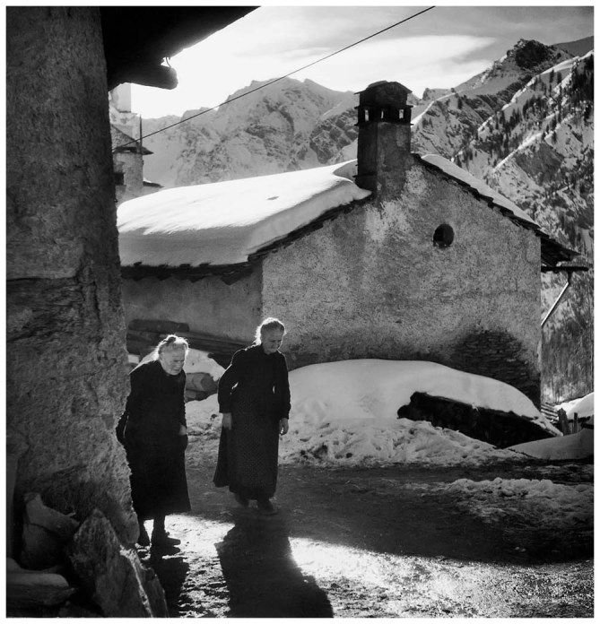 TIFSaint-Véran, Hautes-Alpes 1947 Photo Robert Doisneau