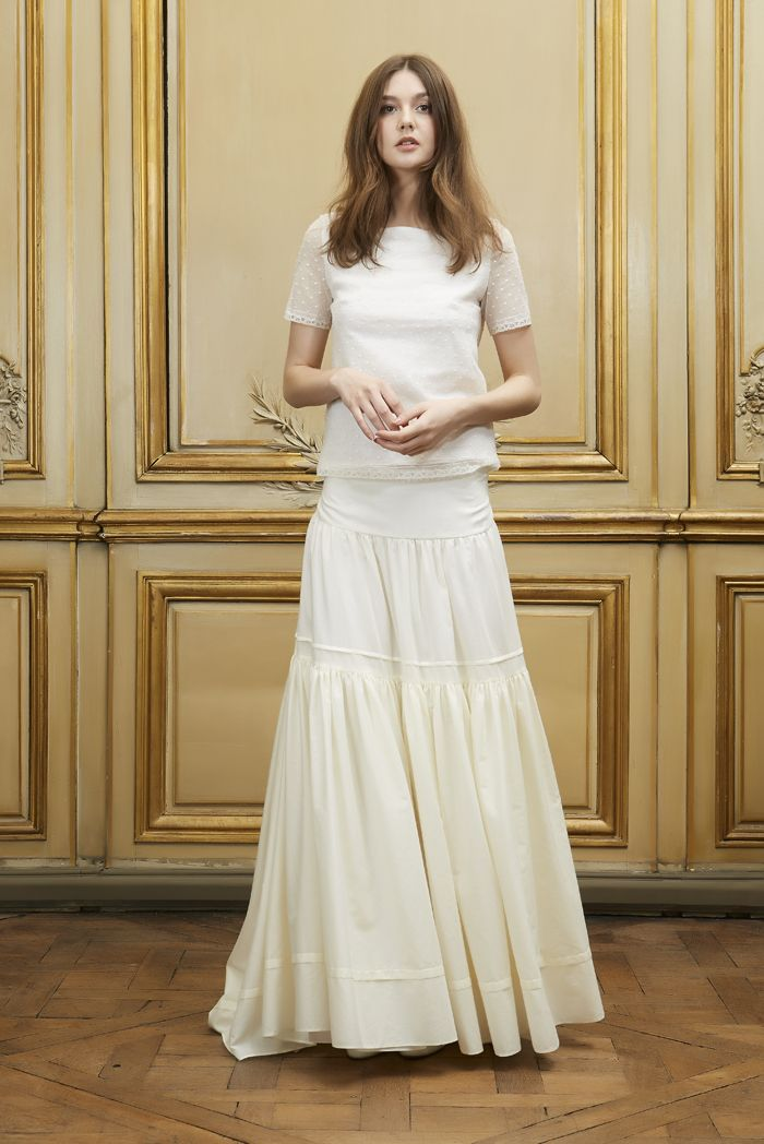 GEORGES TOP MAE SKIRT FRONT - Delphine Manivet 2014