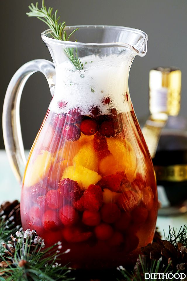 Chambord Bellini – A wonderful combination of Prosecco and Chambord Liqueur create this light, refreshing, delicious and bubbly fancy sipper. It's also just the cocktail that your New Year's Eve Party needs!