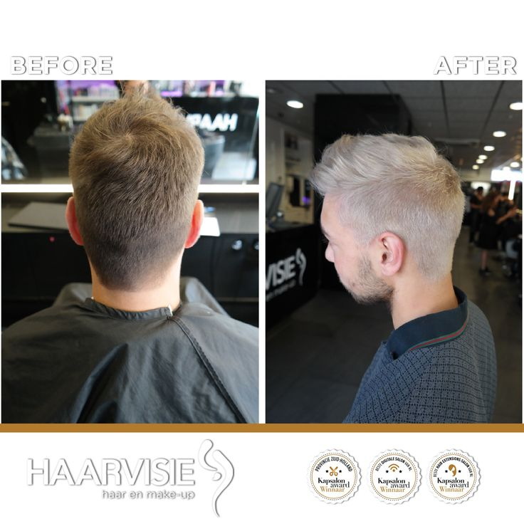 Men silver color with olaplex offcores