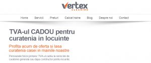 Cu Vertex cleaning te bucuri de viaţă - Suflet Rătăcit