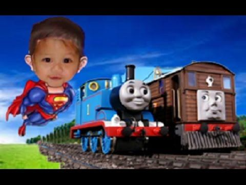 Thomas and Friends Elisha playtime with mommy and daddy
