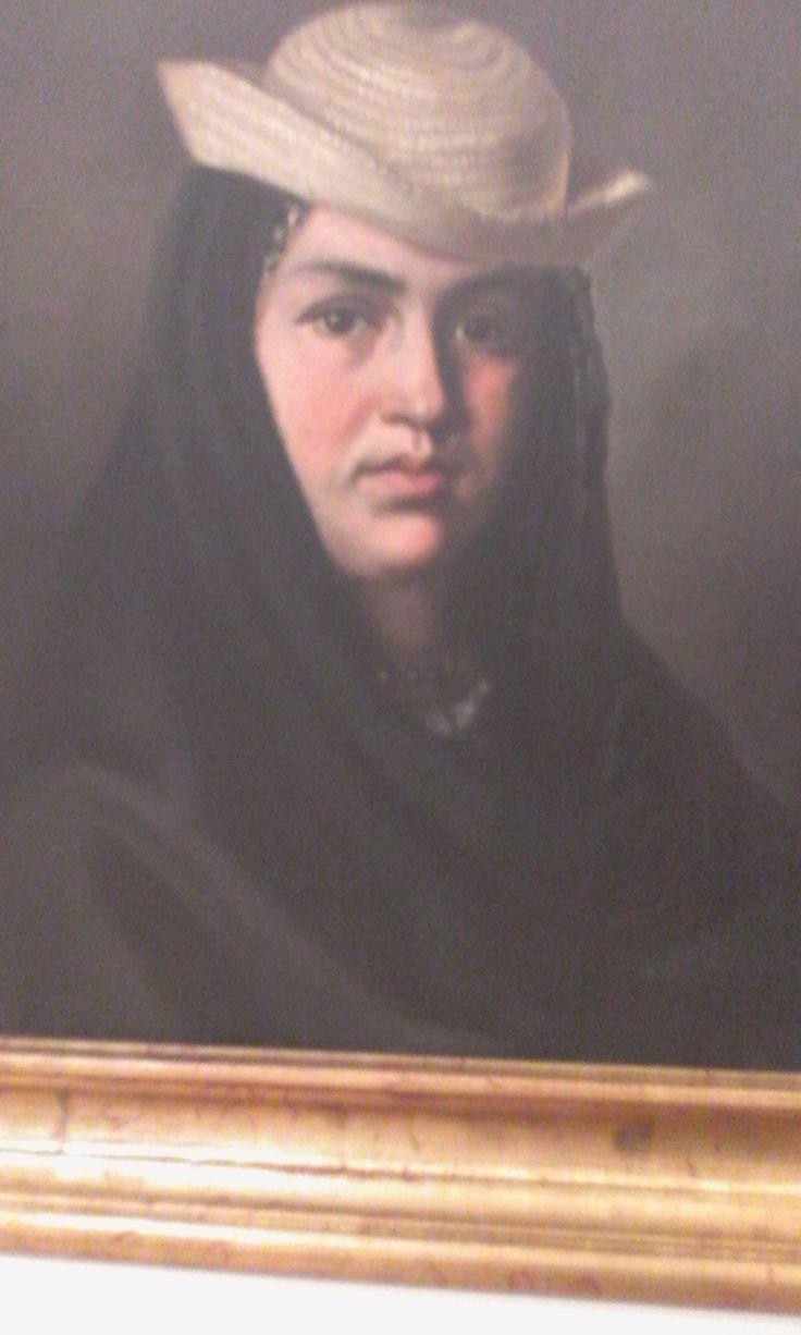 Felipe Santiago Gutiérrez  Texcoco (México) 1824-1904 La corrosca  1875 Oleo sobre tela