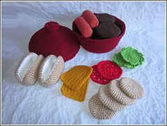 Ravelry: BBQ Playset pattern by Melissa's Crochet Patterns