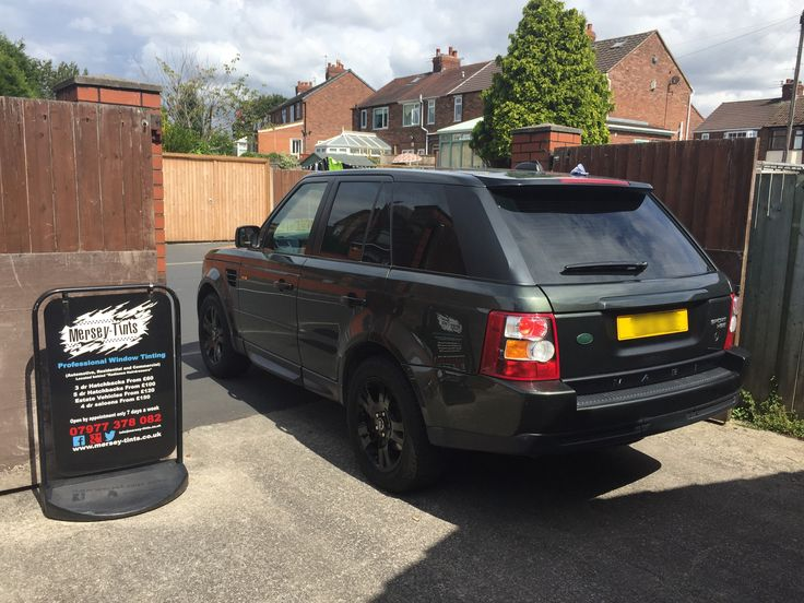2005 Range Rover Discovery Sport in today for 5% Carbon Limo tint to the rear. #suntekcarbon #merseytints #rangeroversport