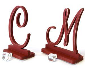 Monogram Stocking Holder - Bring some old fashioned charm to your mantel this season. Learn how to make stocking holders with cute crystal embellishments for hanging stockings.