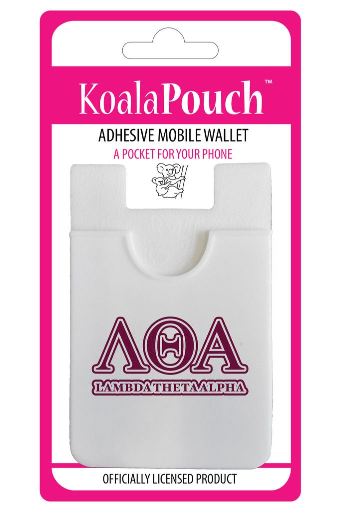 Lambda Theta Alpha Phone Pouch