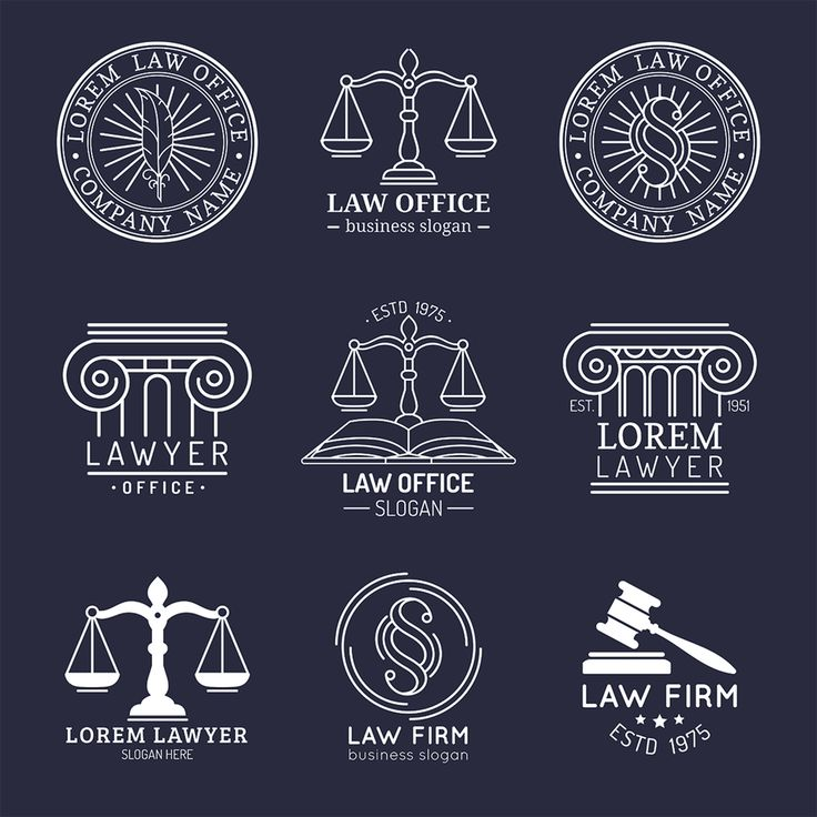 There's no law that says law firm logos must include the iconic scales of justice. As an attorney, you must object to overused legal logo designs.