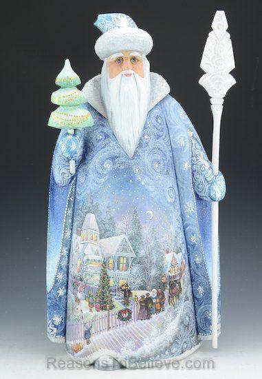 Veil of Christmas Russian Santa
