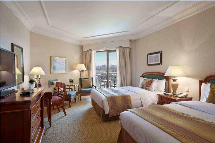 Executive Twin Bed Nile View Room at Conrad Cairo