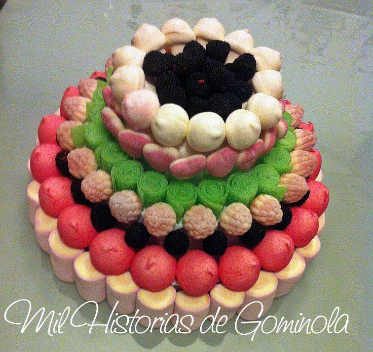 Tarta de #chuches #gominolas #milhistoriasdegominola #cumpleaños #niños #dulce