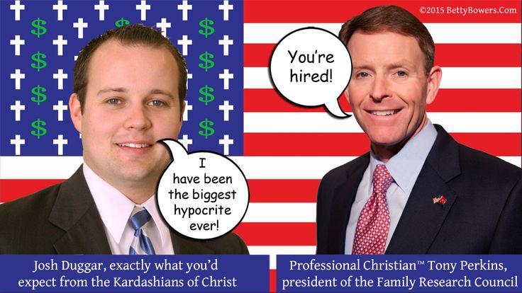 """Quoting from the resume that got him his job at the Family Research Council, Josh Duggar brags: """"I've been the biggest hypocrite ever!"""" Bristol Palin takes strong exception. http://www.cnn.com/2015/08/20/us/josh-duggar-ashley-madison/  Twitter: @BettyBowers"""