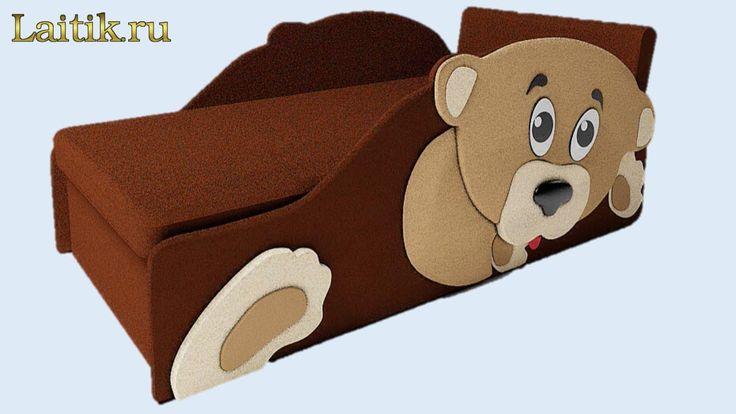 Детский диван кровать Тедди. Детская мягкая мебель.Отзыв.Сборка. Интерне...