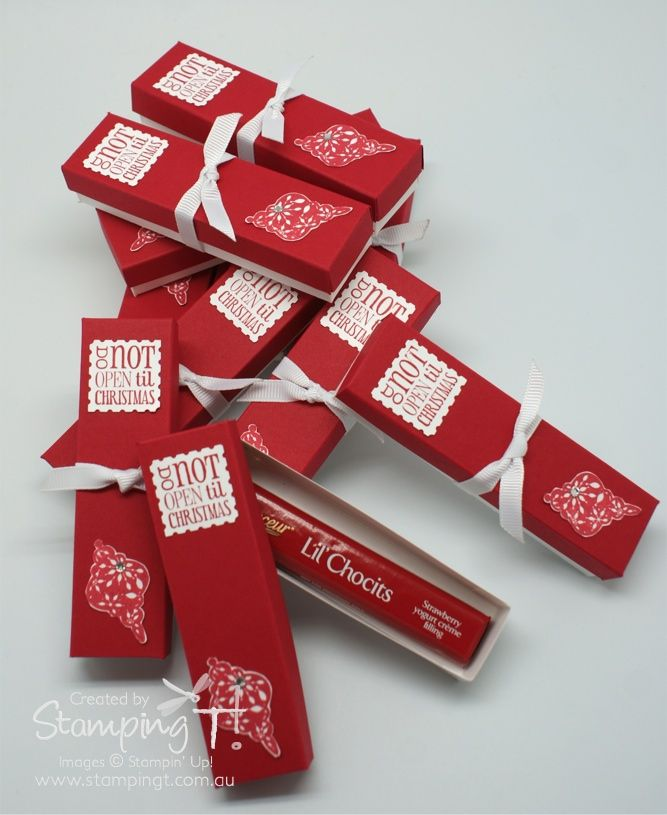 Stampin' Up! Stamping T! - Christmas Gift Box
