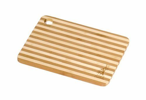 Island Bamboo HC8MG Cuisin-Aire Honey Stripe Cutting Board, Mini, 8-Inch by 6-Inch by Island Bamboo. $7.55. Cleans easily, just hand wash with soap and warm water then dry thoroughly. Great as a bar board for slicing fruits or garnishes. Made of bamboo, one of the world's most renewable resources. 8-inch by 6-inch, 3/8-inch thick. Alternating dark and light stripes for a striking look. Cuisin-Aire Cutting Boards by Island Bamboo are lightweight, durable, easy to clean a...