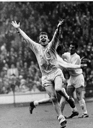 Legend: Billy Bremner, captain of Leeds United