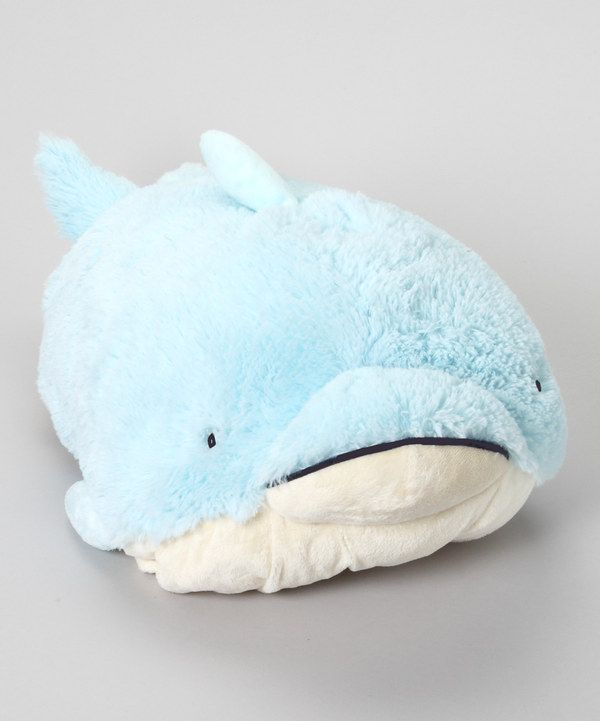 Another great find on #zulily! Squeaky Dolphin Pillow Pet by Pillow Pets #zulilyfinds