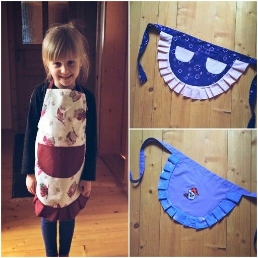 Kids aprons for little girls