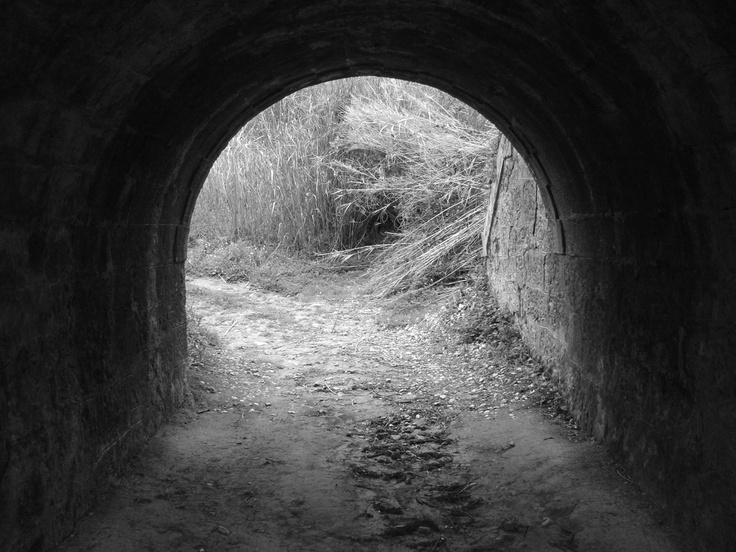 Travessia inferior, linha férrea, Sapataria, Sobral de Monte Agraço, Autor: Nelson Gaspar