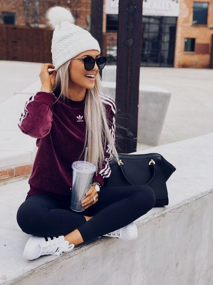 winter outfits sporty