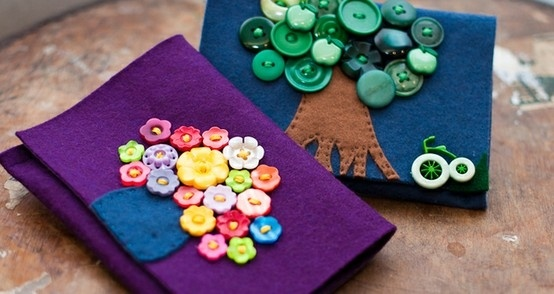 sweet craft idea! from homemade london. by greta
