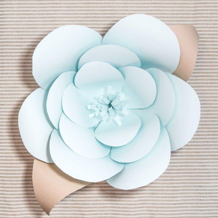 17 meilleures id es propos de fleurs en papier g antes. Black Bedroom Furniture Sets. Home Design Ideas