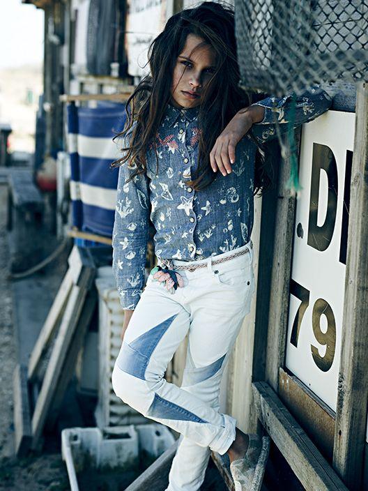 #Niñas con estilo :D sólo en #ScotchandSoda #Antea