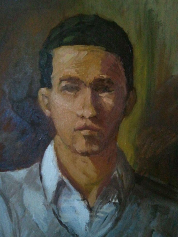Friend Portrait by Rassen Haddad