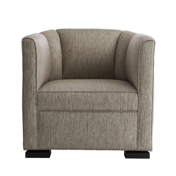 Whitney Club Chair Woodrose Tweed Eco Charcoal