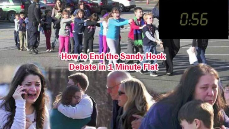End Sandy Hook debate in 1 Minute Flat