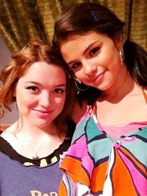 selena gomez and jennifer stone | Selena Gomez & Jennifer Stone - Alex and Harper Photo (24522291 ...