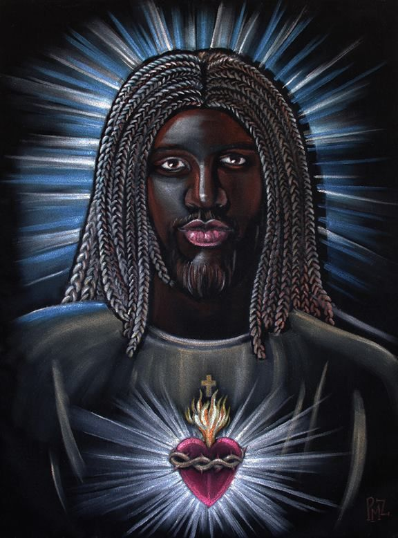 Black Jesus Reprinted In New Bible | Patrushka