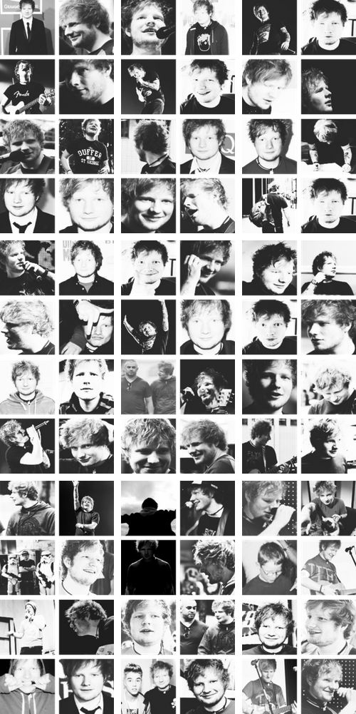 Ed Sheeran - not the fact his my twin! But the fact he is the most fucking talented artist of the generation!