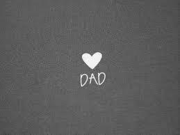 Three simple letters - One huge love 'Dad'