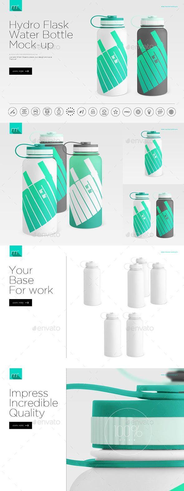 Hydro flask mockup free