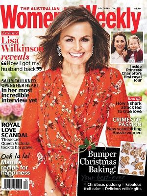 @womensweeklymag #magazines #covers #december #2016 #royals #KateMiddleton #PrincessCharlotte #LisaWilkinson #recipes #baking